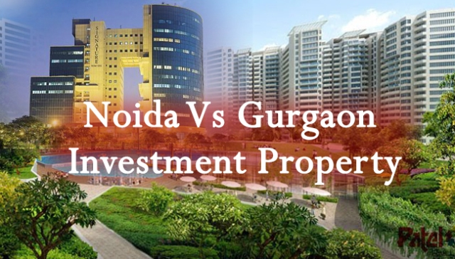 noida-vs-gurgaon-property